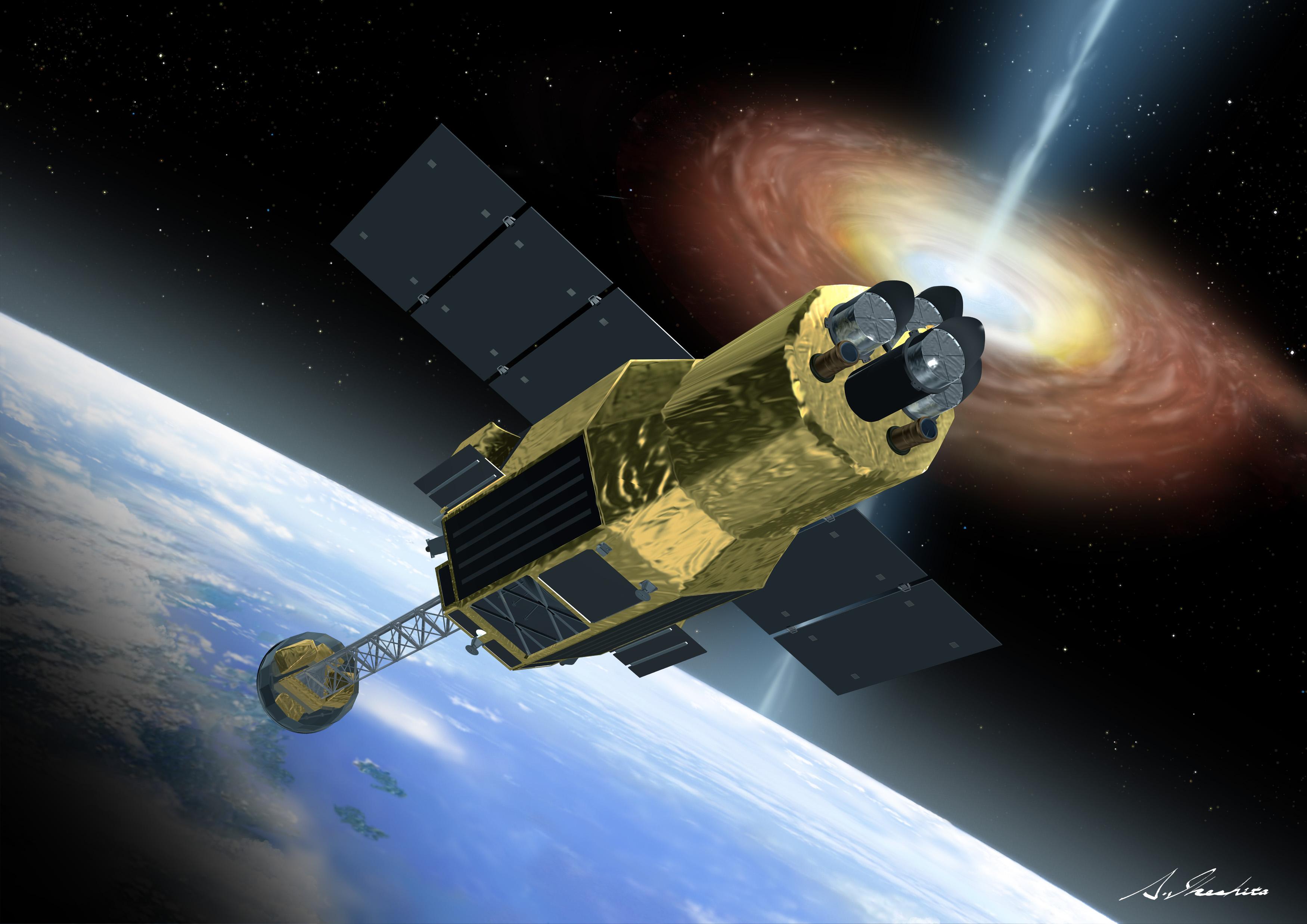 Astro-h telescope